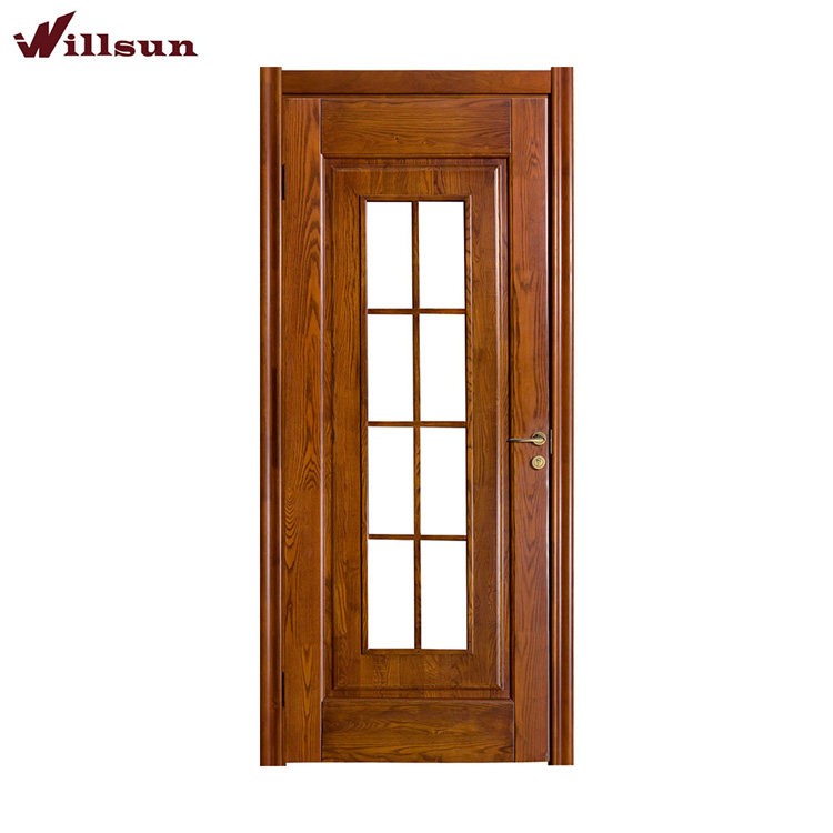 Exterior Solid Wood Doors WS 10 | Foshan Willsun Door Industry Technology  Co., Ltd.