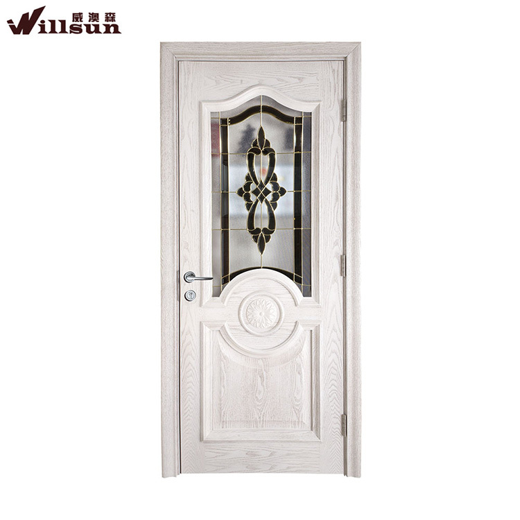 Quality Assurance Glass Decoration Luxury French Bathroom Doors