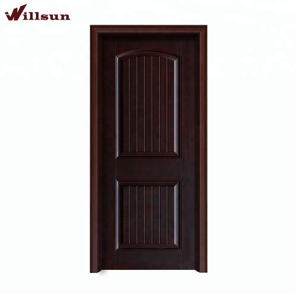 Newly Designed Home Bedroom Door Solid Teak Wood Door