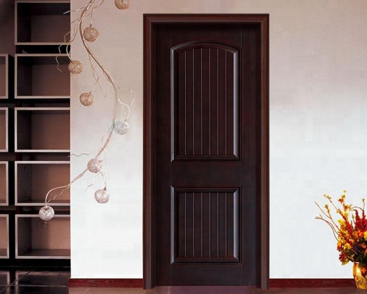 . Newly Designed Home Bedroom Door Solid Teak Wood Door