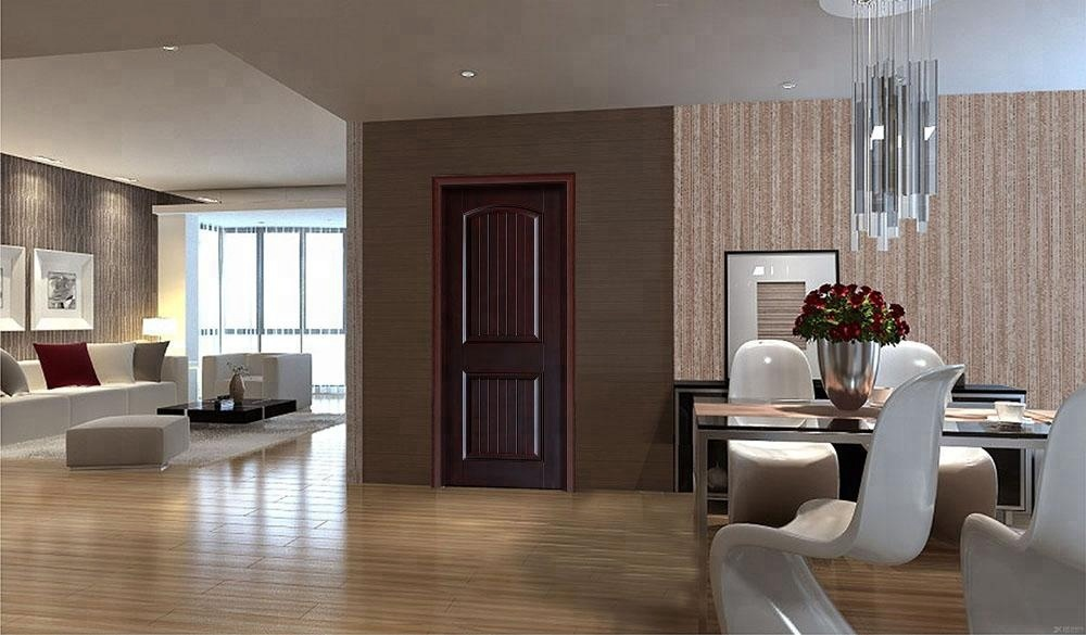 Newly Designed Home Bedroom Door Solid Teak Wood Door
